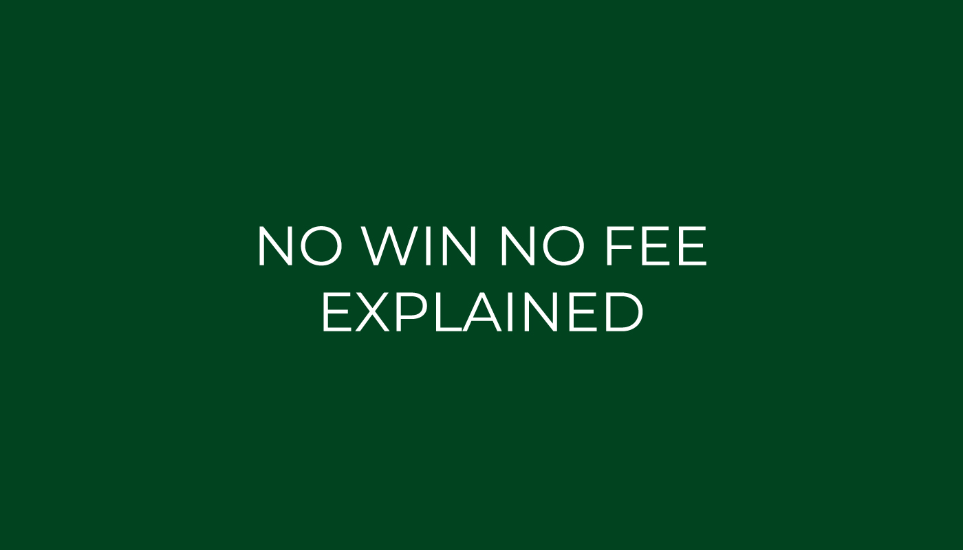 no win no fee explained
