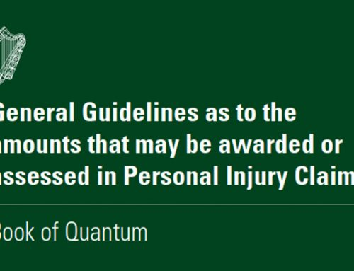 New Guidelines – The Injuries Board Book of Quantum for Personal Injuries