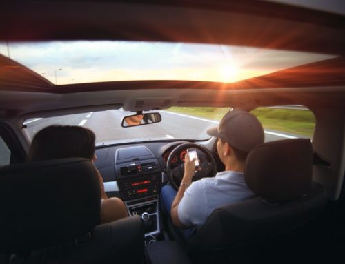 Distracted driving poses a risk to other road users